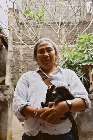 Degung and puppy