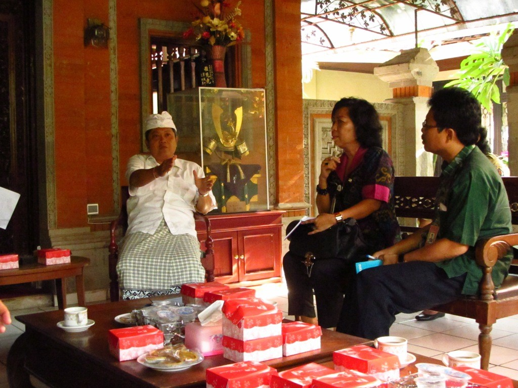 Meetings with the Walikota of Denpasar